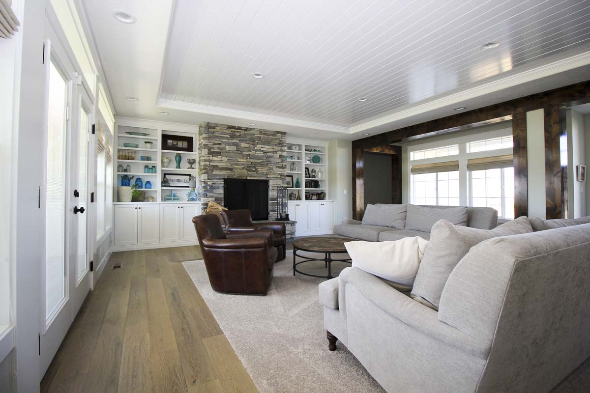 Canyon Lake Custom Home Living Room (2)