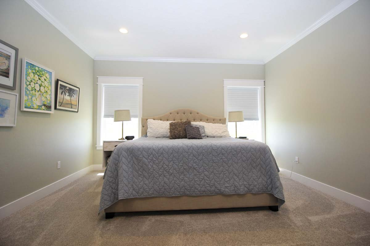 Canyon Lake Custom Home Master Bedroom