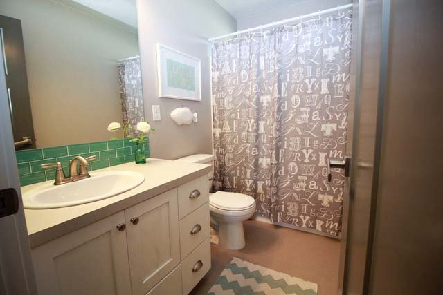 Castleton Custom Home Bathroom