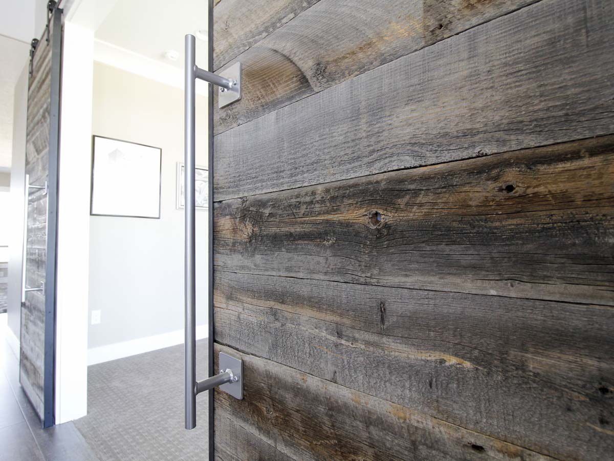 Overland Custom Barn Door Close Up